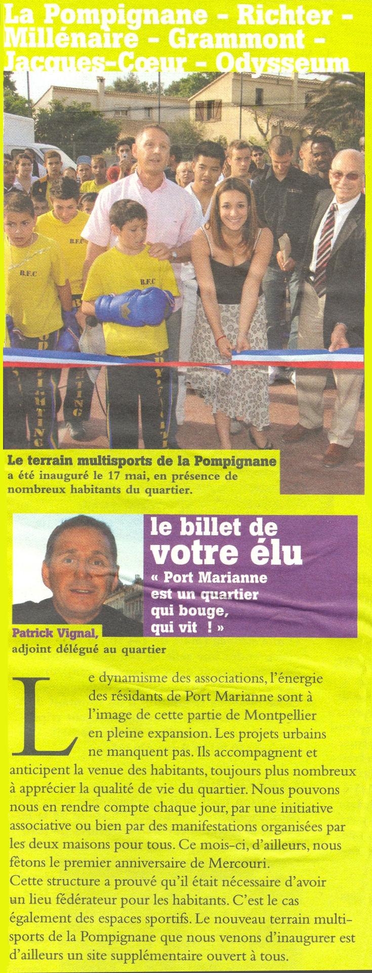 Montpellier Notre Ville de juin 2006