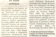 Midi Libre du 16/11/2007