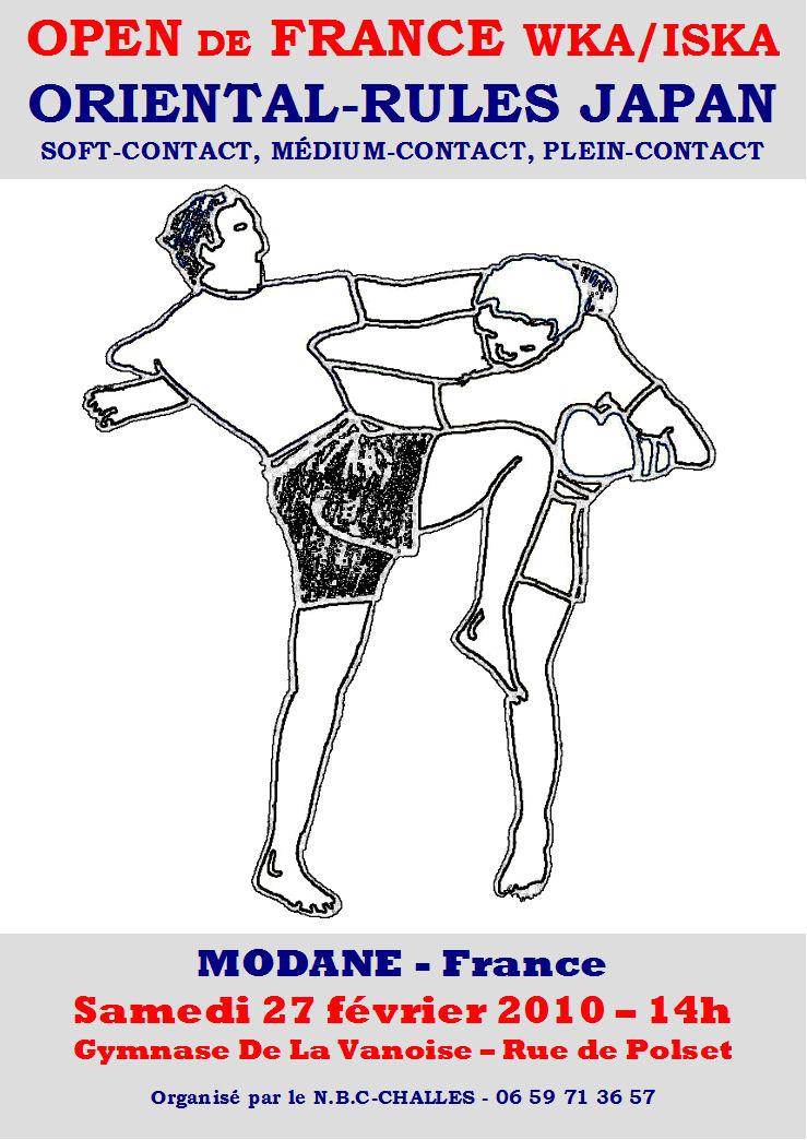Compétition de Japan Kick Boxing (K1 Style)
