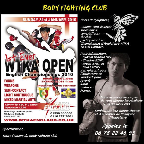 English Championships 2010 WTKA