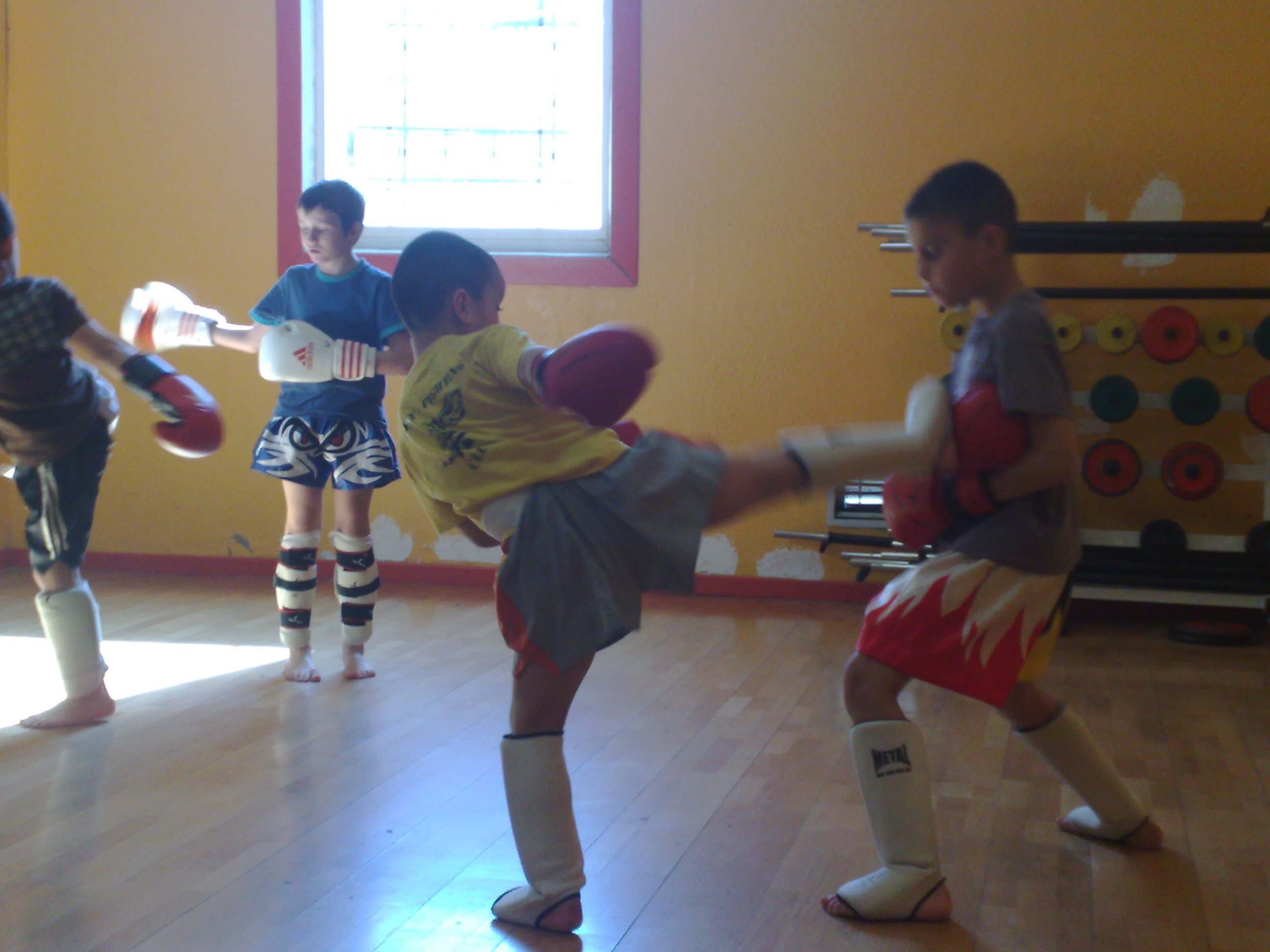 Le Bodyfighting possible dès 4ans!!!!!!!!