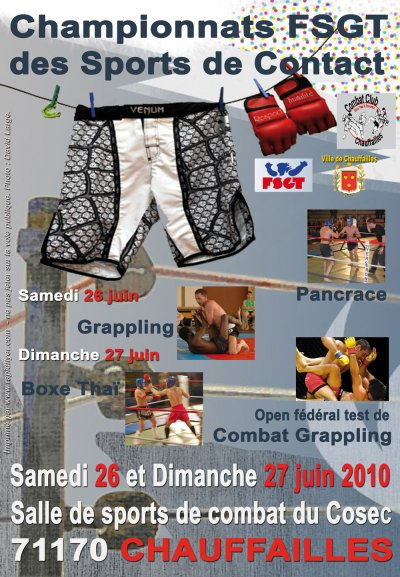 Annulation du Championnat de France FSGT!!!!