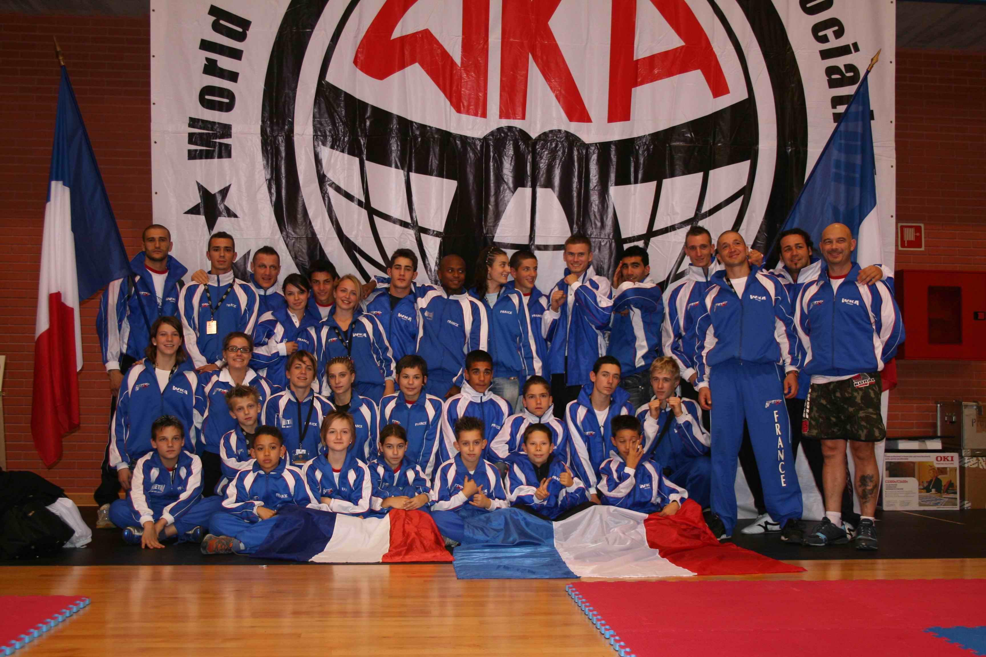 BFC Montpellier accueil  le stage de détection de l'équipe nationale WKA/ISKA