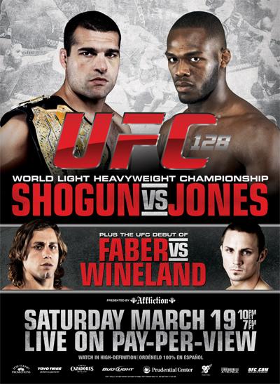 VICTOIRE DE JONES SUR SHOGUN A L'UFC 128