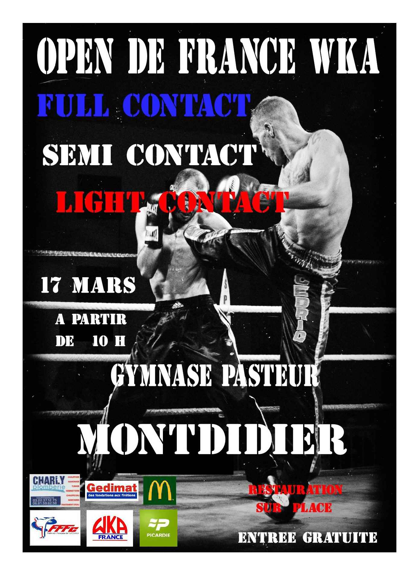 Open de France WKA de Full-Contact