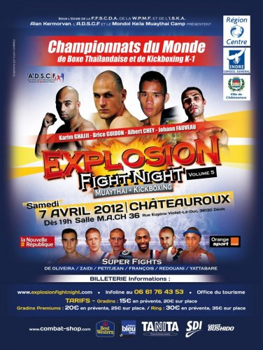 EXPLOSION FIGHT NIGHT 5