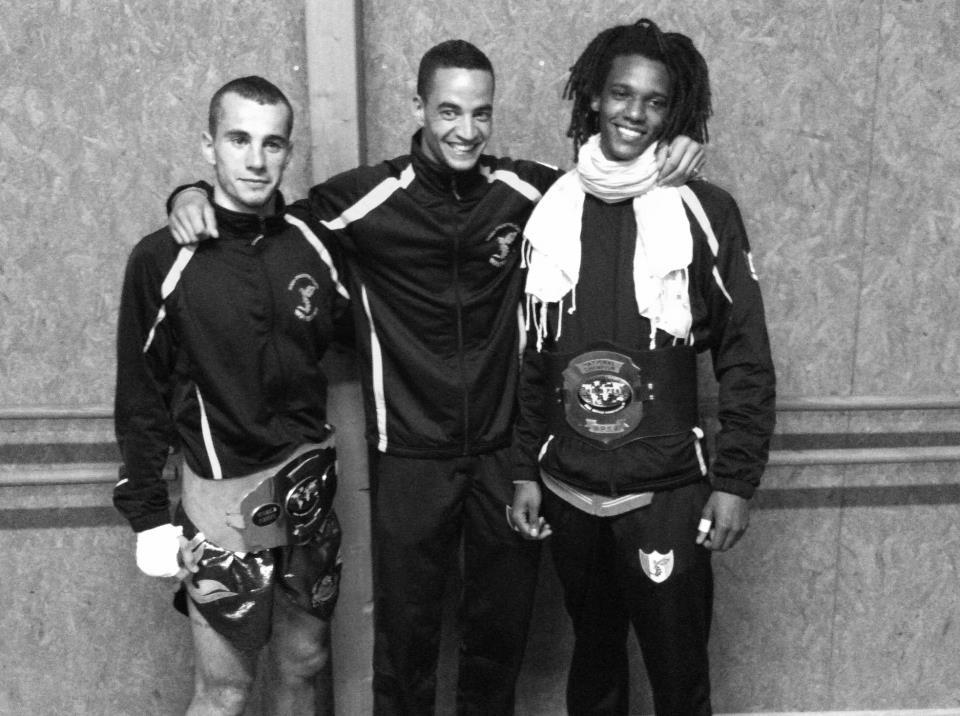 2 nouveaux Champions de France semi-pro de Kick-Boxing au club