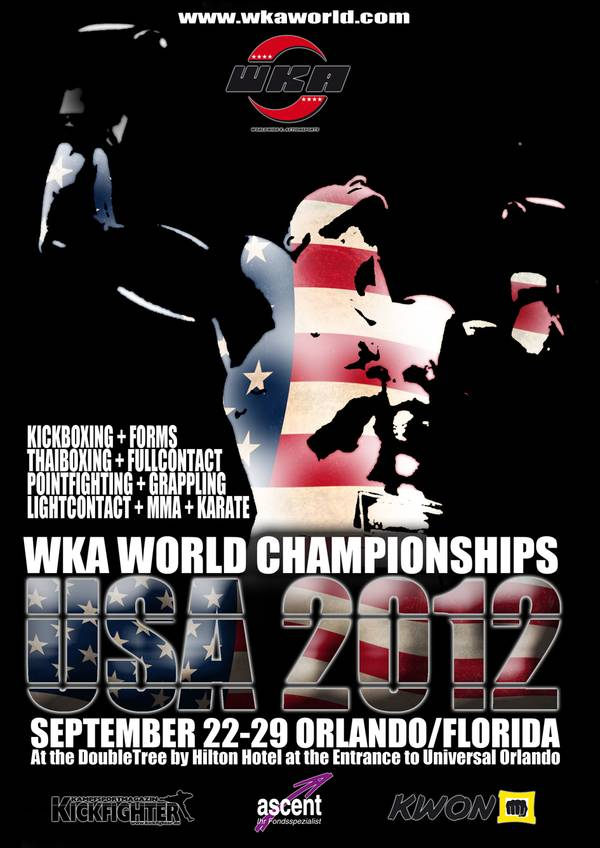 Championnat du Monde WKA (World Kick-Boxing Association) 2012