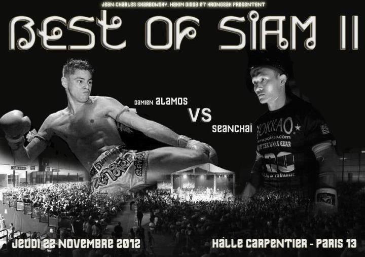 Damien ALAMOS contre Saenchai le 22 novembre 2012