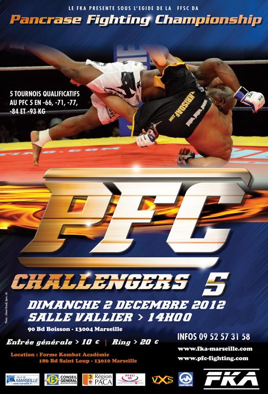 PFC CHALLENGERS 5, le dimanche 2 décembre 2012