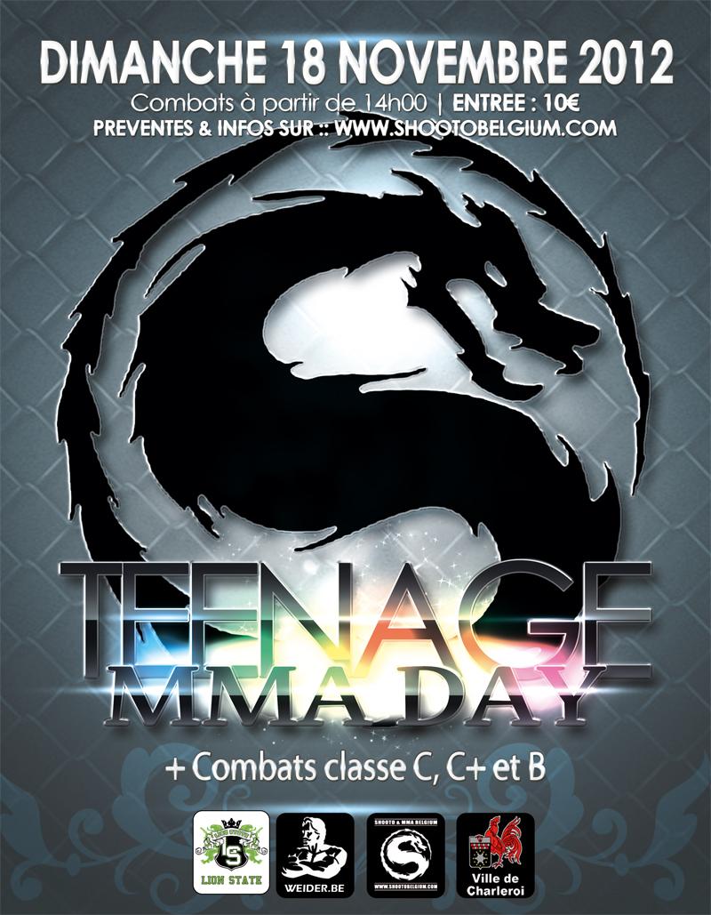Teenage MMA Day