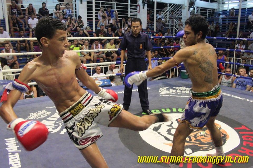 3ème combat pour Hamid MHAMDI en Thaïlande…