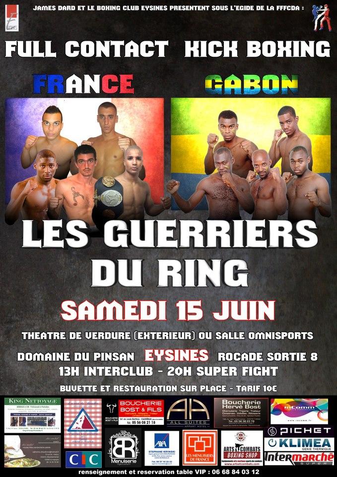 BFC signe un 2nd PERFECT à Bordeaux pour «les guerriers du ring»