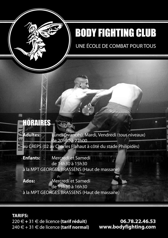 Les cours de Body-Fighting commencent à partir du lundi 09 septembre 2013