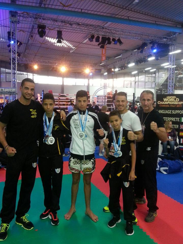 Des Bodyfighters qui brillent lors du Championnat du Monde WTKA 2013 en Italie