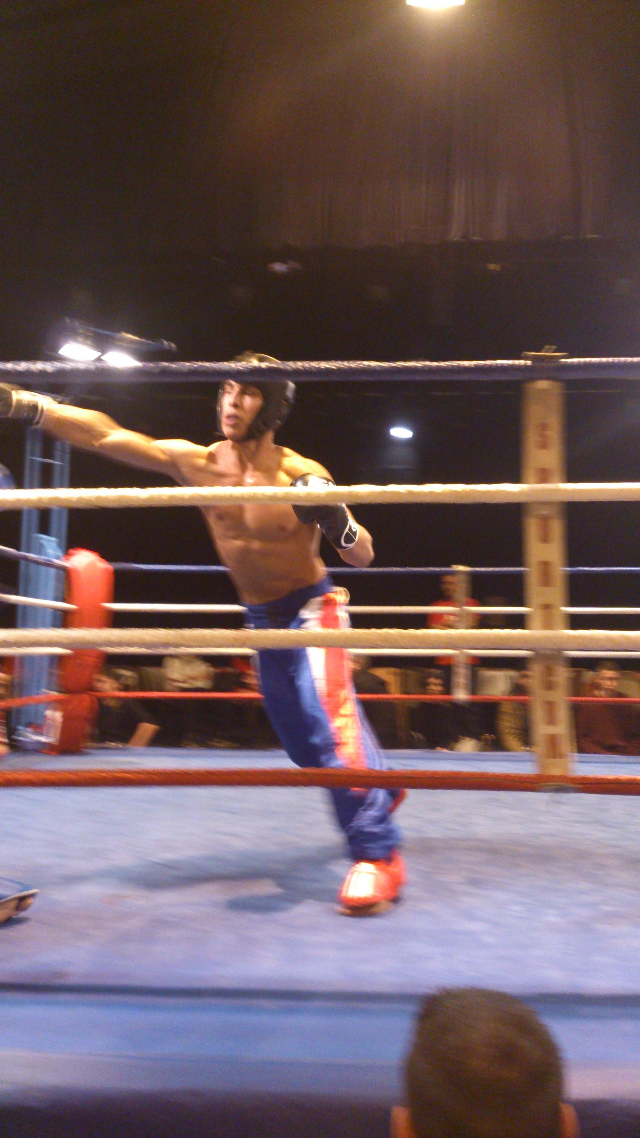 Suite et fin du reportage sur «Les guerriers du ring» à Bordeaux
