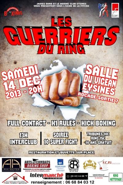 « Les guerriers du Ring » à Bordeaux , notre dernière compétition de l'année