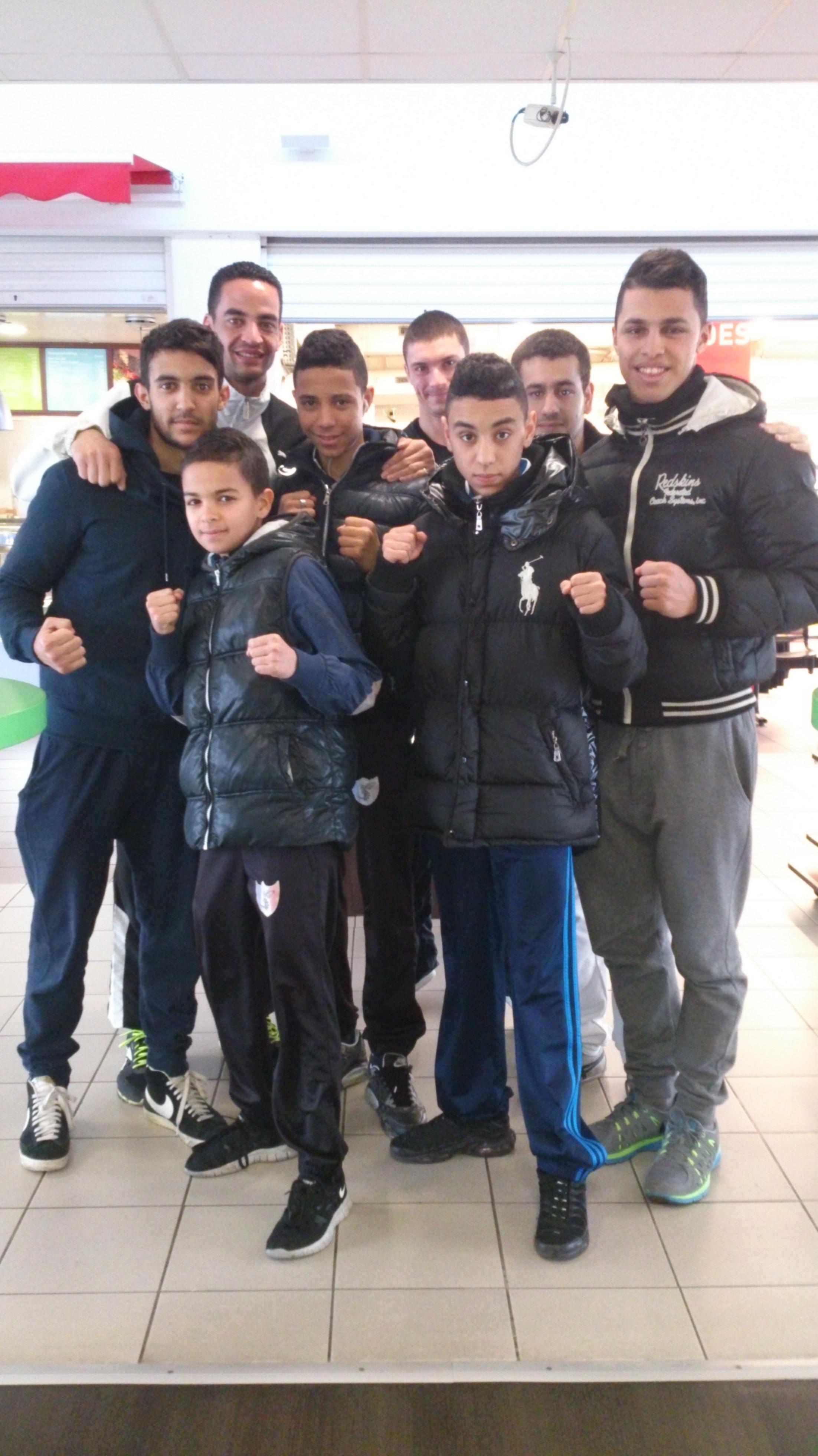 4 athlètes sélectionnés au Championnat de France de Kick-Boxing CNKB 2014