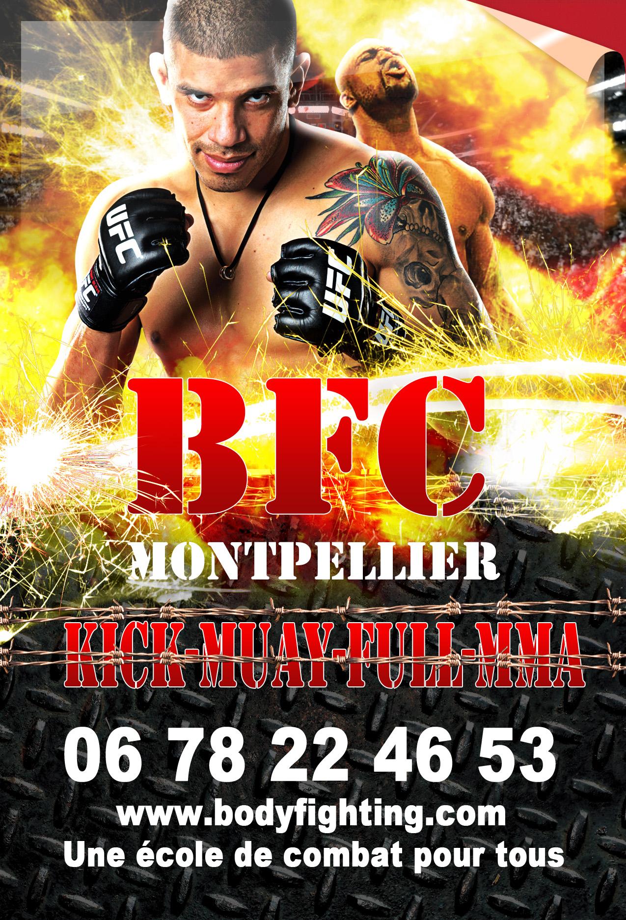 KICKBOXING-BOXE THAI-FULL-MMA À MONTPELLIER AU BODYFIGHTING CLUB