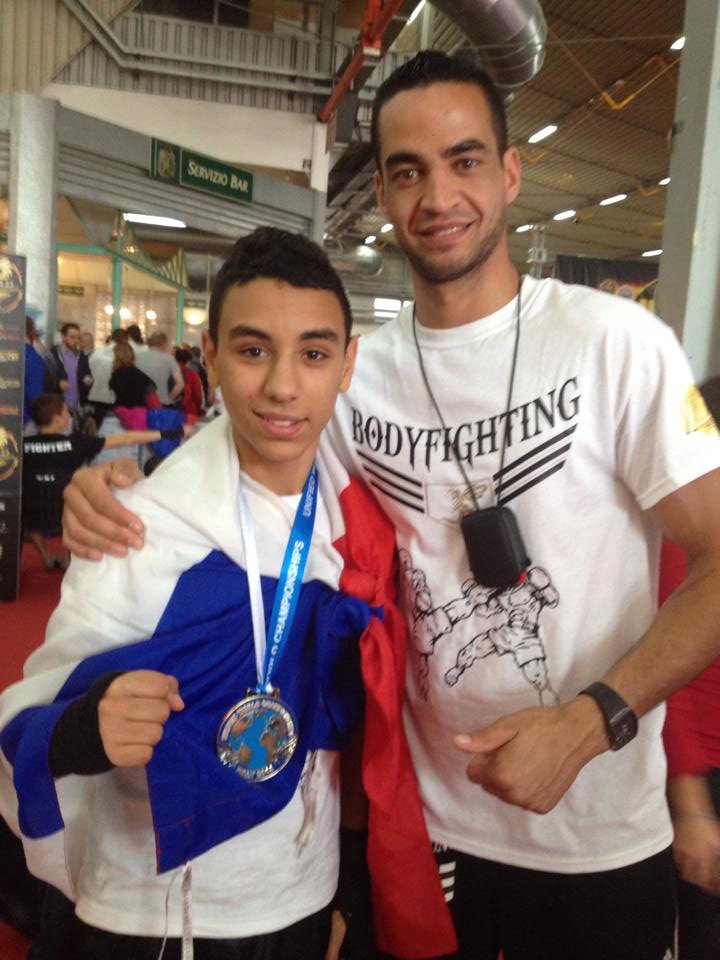 Foued TAGBALOUT devient Champion du Monde Junior WTKA en Kick-Boxing Light