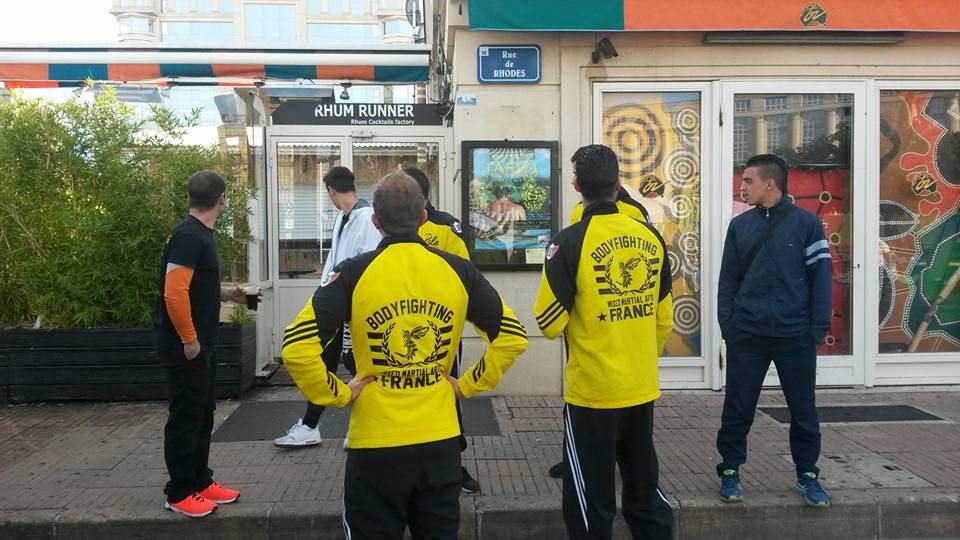 Superbe Foire aux associations pour le Body-Fighting Club de Montpellier