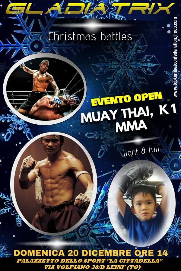 Victoire d'Hamid MHAMDI pour son 1er Combat Classe C en Muay Thai à Lieni en Italie