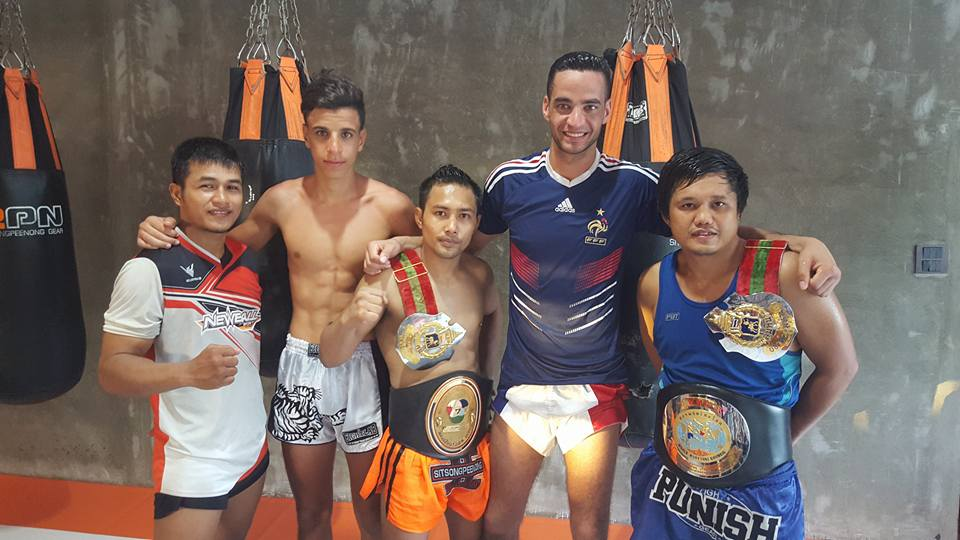 Nos Bodyfighters se perfectionnent au Sitsongpeenong Phuket Muay Thai