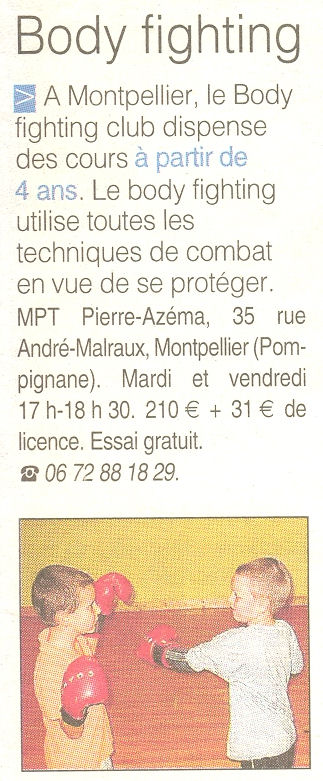 Midi Libre du 28/10/2005